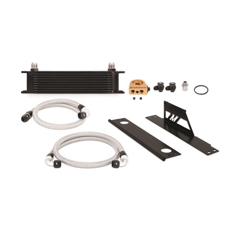 Zestaw chłodnica oleju MISHIMOTO Subaru WRX and STI Thermostatic Black 2001-2005 - GRUBYGARAGE - Sklep Tuningowy